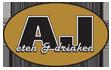 Logo AJ eten en drinken