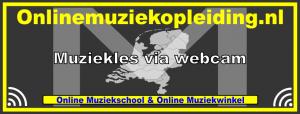 Logo Onlinemuziekopleiding
